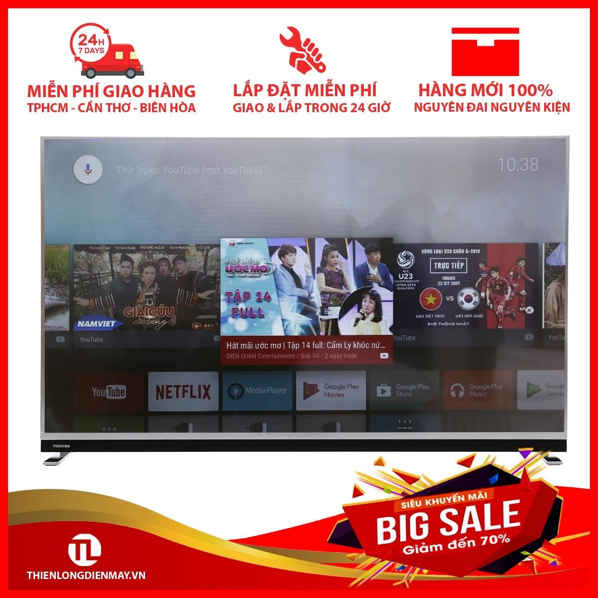 Bảng giá Android Tivi Toshiba 4K 55 inch 55U9750