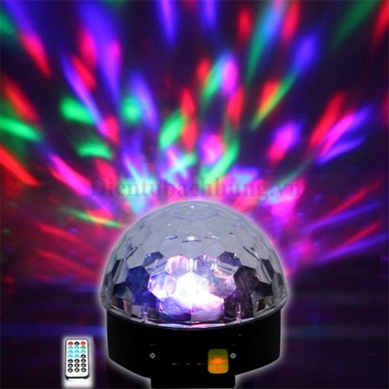 Bảng giá Đèn Led Xoay 7 Mầu Kèm USB Phát Nhạc Phong Vũ