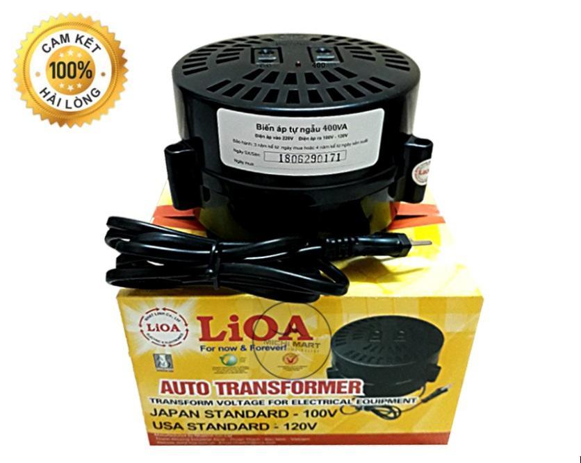 Đổi nguồn Lioa 400VA - Đổi điện 220v sang 100v-120v - Biến áp tự ngẫu 400VA DN004 - Michi Electric
