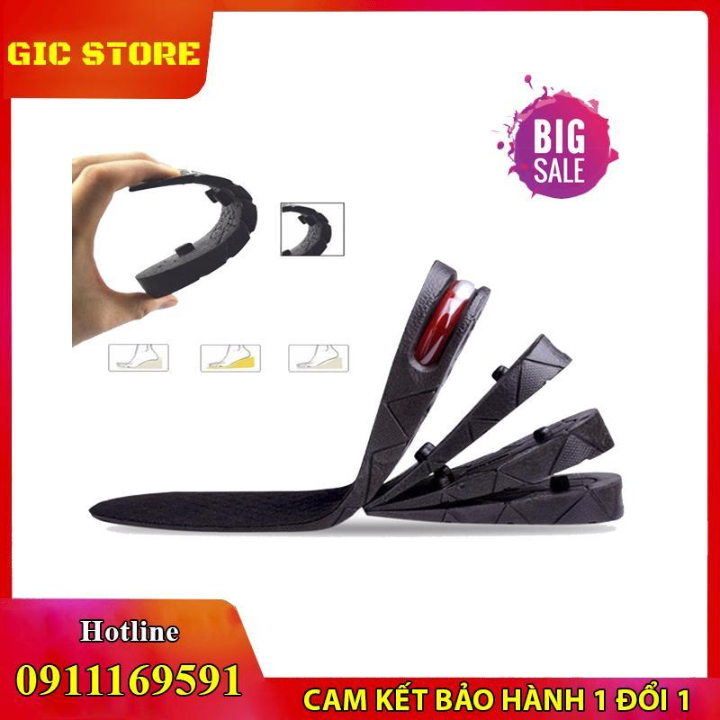 Chém Giá, Lót Giày Tăng Chiều Cao Đệm Khí 2 Lớp (3-5cm) - Phù Hợp Mọi Kích Thước Giày