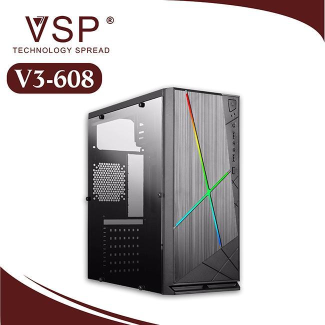 Giá Case máy tính VSP V3-608 LED RGB