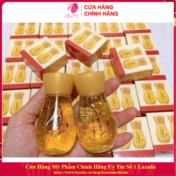 [Hàng Auth Hàn Quốc] Bộ serum vàng 24k mini dưỡng trắng da chống lão hóa mờ thâm nám Labelage Hàn Quốc 30mlx2 lọ nhập khẩu