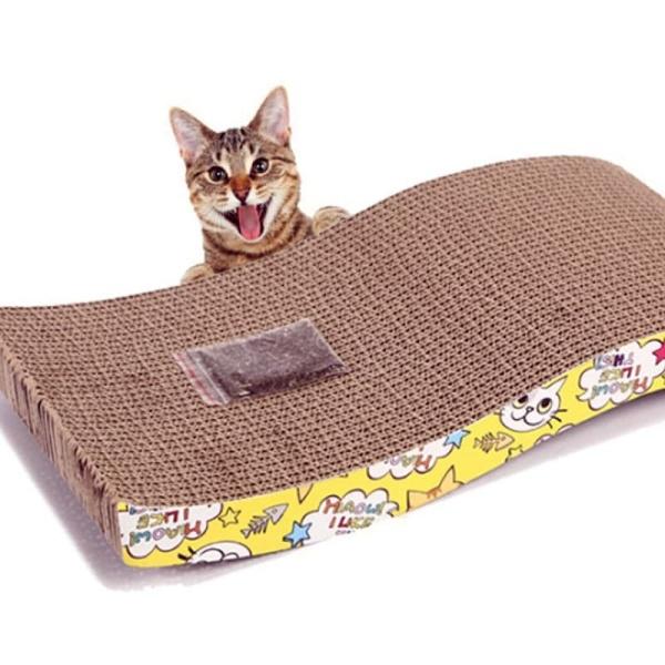 Bàn cào móng cho mèo (tặng kèm catnip)