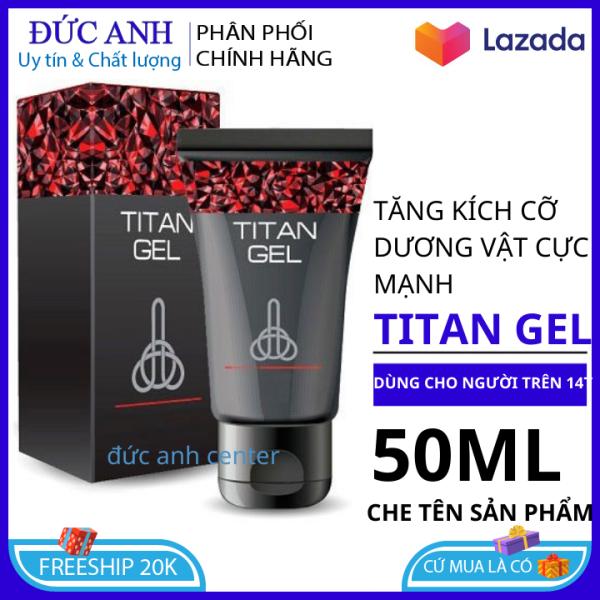 Titan gel Nga gel bôi trơn tăng cường sinh lý , kéo dài thời gian quan hệ , che tên sản phẩm