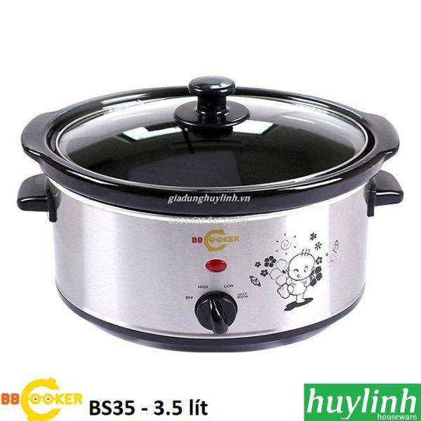 Nồi nấu cháo chậm Hàn Quốc BBcooker BS35 - 3.5 lít