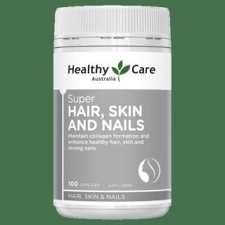 Healthy Care Super Hair Skin Nail Viên Uống Chống Rụng Tóc, Giúp Da Và Móng Tay Chắc Khỏe 100 viên thumbnail
