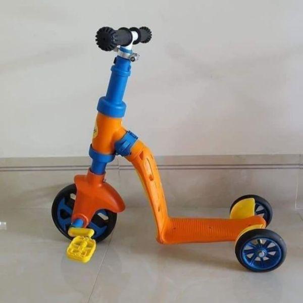 Phân phối Xe Scooter 2 Trong 1 Abbott Grow Kiêm Xe Chòi Chân Cho Bé 2 - 6 tuổi