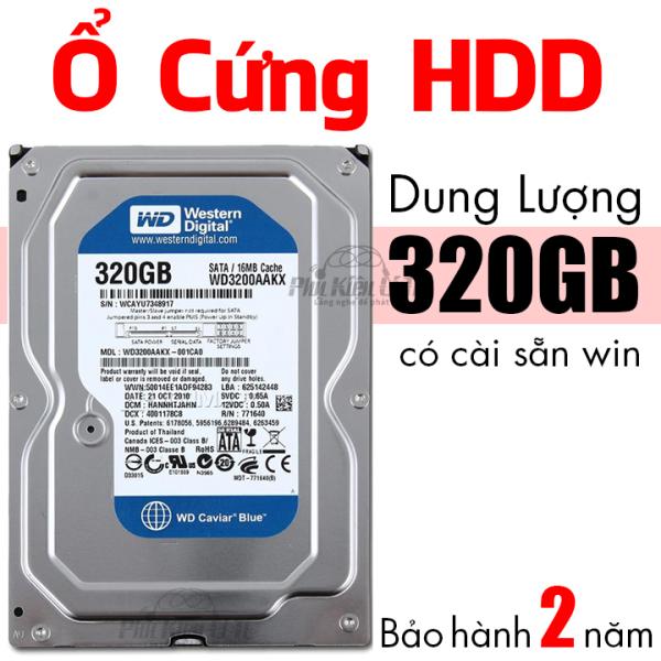 Bảng giá Ổ cứng HDD máy tính bàn WD 500GB Cài sẵn hệ điều hành Bảo Hành 2 Năm Phong Vũ