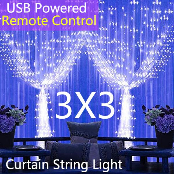 USB Đèn Tiên Với Chuỗi Ánh Sáng 8 Chế Độ Khiển Từ Xa IP64 Không Thấm Nước Trang Chủ Tiệc Giáng Sinh Đèn Trang Trí Đám Cưới Nguồn