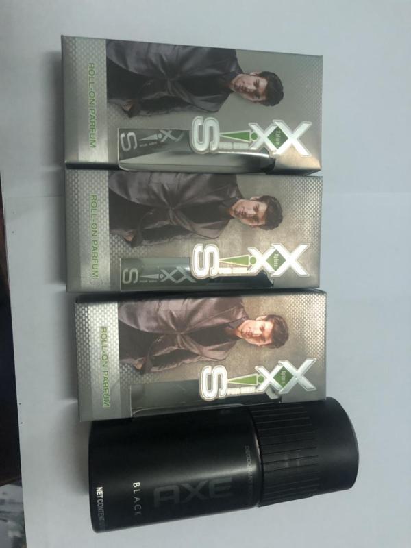 (TH) Combo 3 chai nước hoa Xxis 10ml dạng lăn + tặng 1 chai xịt khử mùi Axe dành cho nam 50ml/ chai nhập khẩu