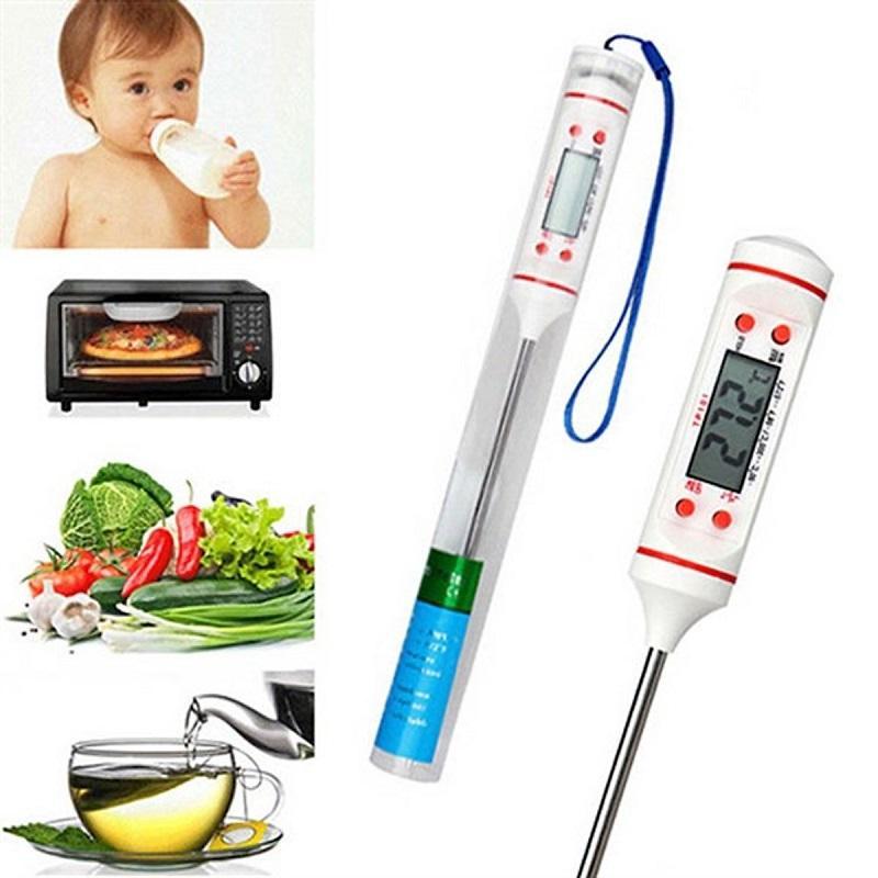 Nhiệt kế đo nhiệt độ nước, sữa và thực phẩm