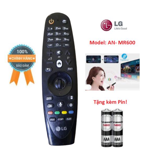 Bảng giá Remote Remote Điều khiển tivi LG 2015 giọng nói MR600 dùng cho các dòng tivi LG 2015- Hàng chính hãng LG