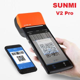 MÁY POS BÁN HÀNG SUNMI V2 Pro thumbnail