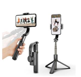 [GIÁ SIÊU RẺ] Gậy Chụp Ảnh Điện Thoại,Tay Cầm Chống Rung Điện Tử Gimbal L08 Có Bluetooth -Có Chân Đỡ Tự Đứng - Kéo Dài Tới 86cm,Gậy Livestream,Quay Tiktokk,Quay Video,Bảo Hành 12 Tháng thumbnail