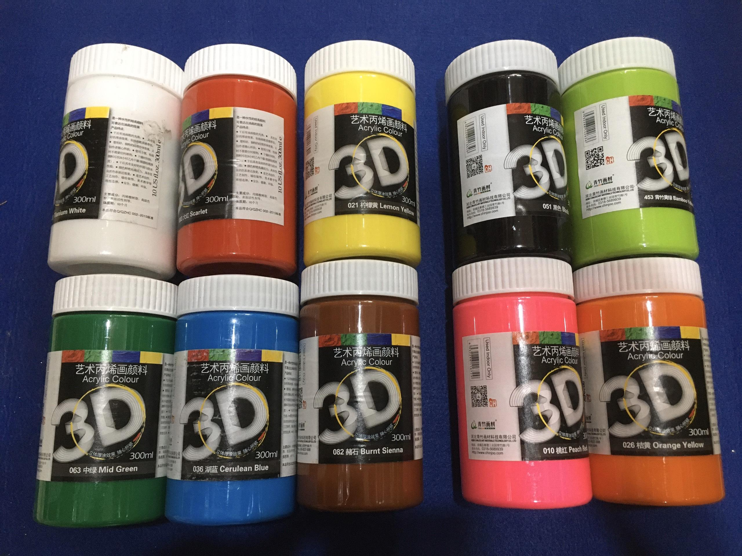 Mua Màu vẽ Acrylic 3D 300ml
