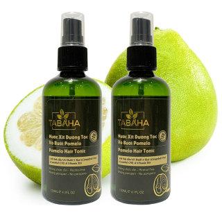 Bộ 2 chai dưỡng tóc tinh dầu vỏ bưởi Pomelo TABAHA 120ml giảm rụng tóc thumbnail