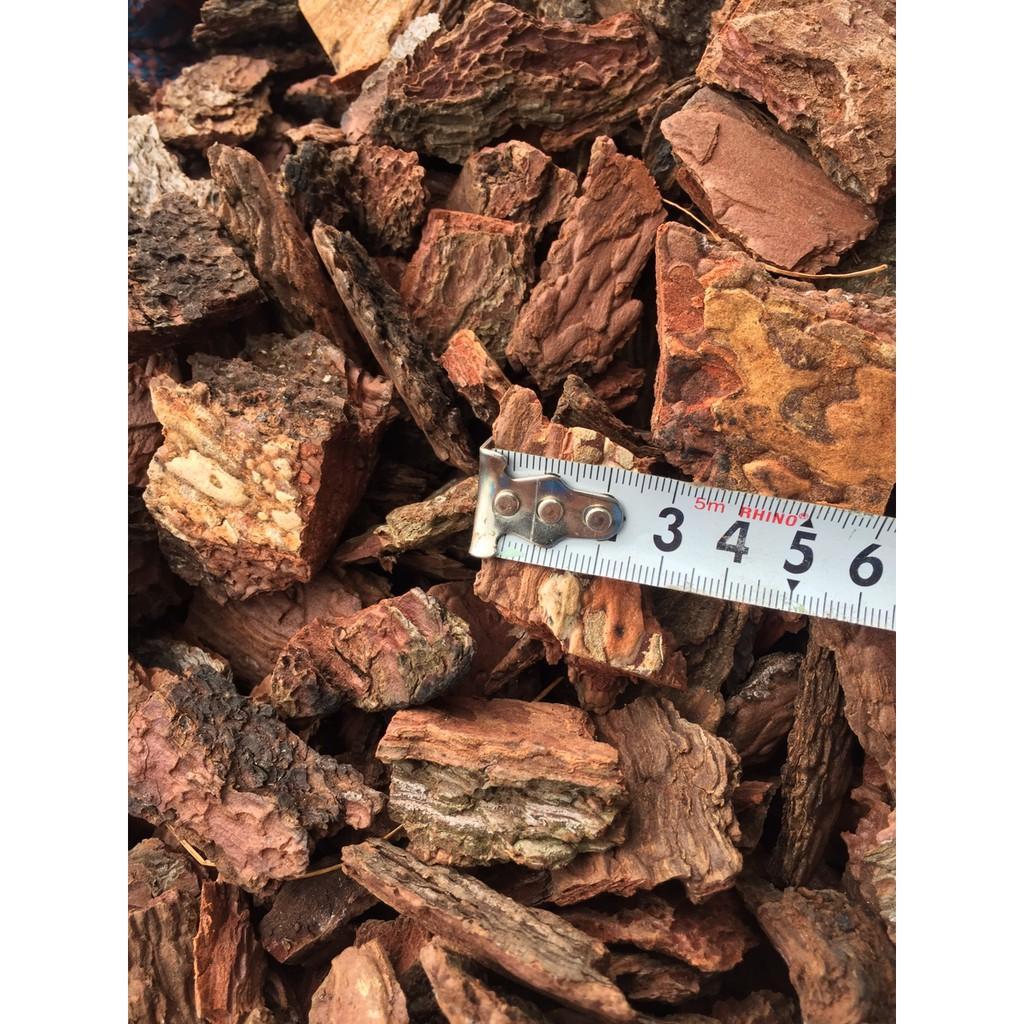 Combo 5kg vỏ thông đỏ trồng lan