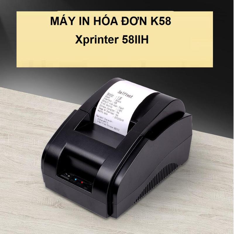 (Khuyến Mãi)_Máy In Hóa Đơn Xprinter 58IIH Khổ Giấy K58 Hàng Nhập Khẩu