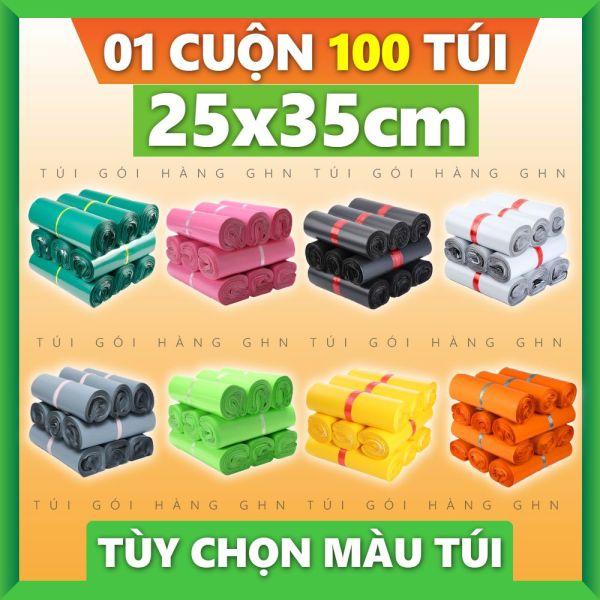 100 Túi Gói Hàng Cao Cấp GHN Size 25x35cm