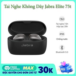 Tai Nghe True Wireless Jabra Elite Active 75T - Thiết Kế Vừa Vặn Sang Trọng Chống Ồn Âm Thanh Tuyệt Vời Stereo Không Trễ Tích Hợp 4 Micro Nghe Nhạc Liên Tục 28H Chống Nước Chống Bụi - Bản Cao Cấp thumbnail
