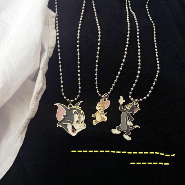 Dây chuyền thời trang nam nữ Tom & Jerry Qa554