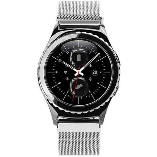 Giá Dây Đeo 20mm Thép Lưới Milanese Cho Samsung Galaxy Watch 42mm, Gear S2 Classic, Galaxy Watch Active, Gear Sport, Garmin Vivoactive 3, Huawei 2, Garmin Forerunner 645, Garmin vivomove HR, Huami AMAZFIT BIP