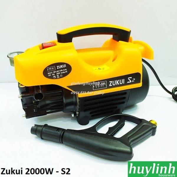 Máy rửa xe Osaka 2000W - Zukui S1 S2 S3 - Tặng kèm bình xà bông