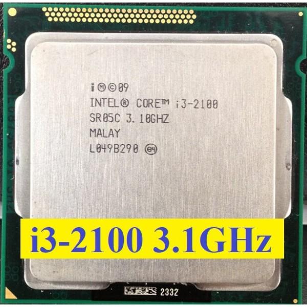 Bảng giá Bộ vi xử lý Intel Core i3 2100 3.1GHz (2 lõi, 4 luồng), Bus 1066/1333MHz, Cache 3MB. Phong Vũ