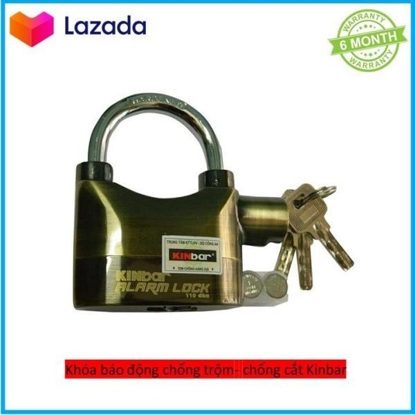 Ổ khóa chống trộm -chống cưa cắt thông minh cao cấp( Vàng)