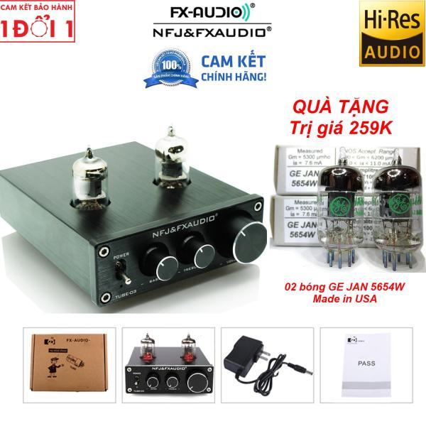 FX Audio TUBE-03 Tube Preamplifier Bóng GE JAN 5654W Mỹ