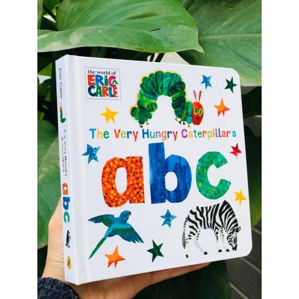 Sách: Thế giới của Eric Carle - The Very Hungry Caterpillar's abc ( Các Loài Động Vật )