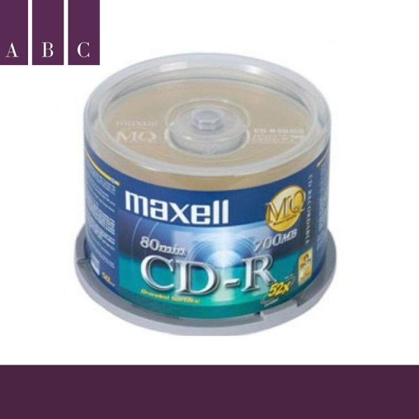 Bảng giá [HOTHOTHOT] Bộ 50 đĩa trắng CD MAXCELL FULL BOX 52X Phong Vũ