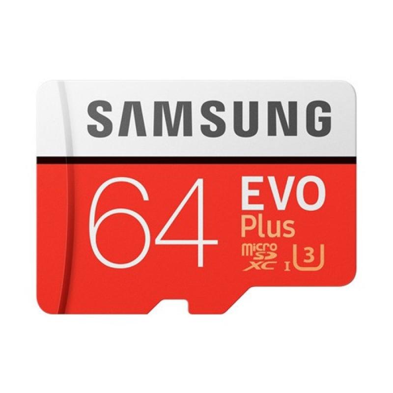 [Bh 5 Năm] Thẻ Nhớ Micro Sdxc Samsung Evo Plus 64Gb Chính Hãng