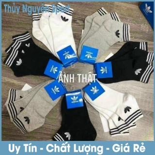 Tất Vớ Thể Thao Adidas 1 Ngắn Cổ 3 Lá Hàng VNXK Thời Trang - Giao Màu Ngẫu Nhiên thumbnail