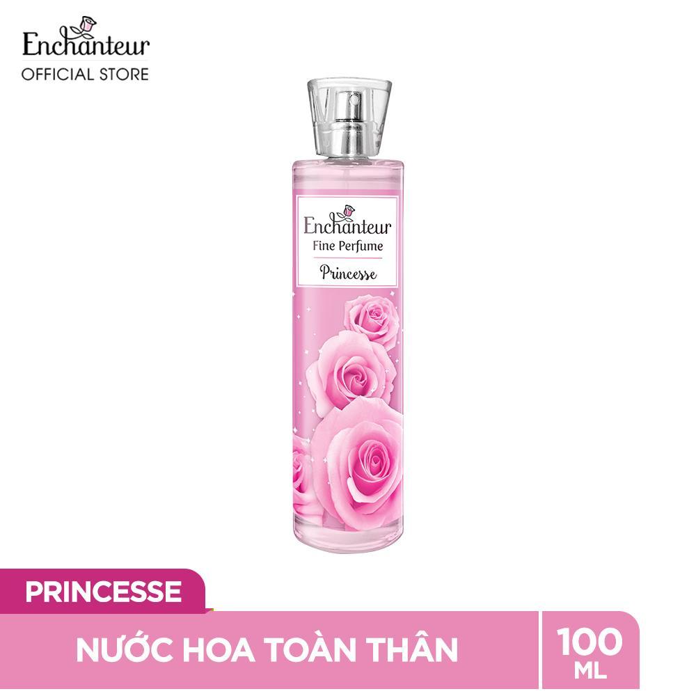Nước hoa toàn thân cao cấp Enchanteur hương Princesse 100ml nhập khẩu