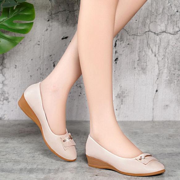 Giày nữ - Gót cao 3p - Giày bít giá rẻ