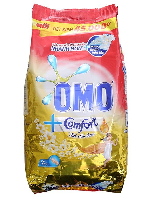[HCM] Bột Giặt Omo Comfort Tinh Dầu Thơm Tinh Tế 5,5Kg Giảm Duy Nhất Hôm Nay