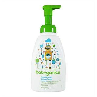 Nước rửa bình tạo bọt Babyganics (babyganic) 473ml thumbnail