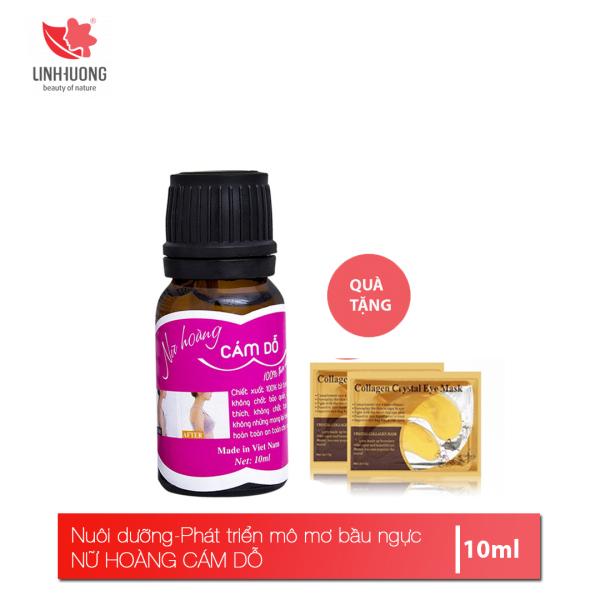 Tinh chất nở ngực Linh Hương Nữ hoàng cám dỗ Nuôi dưỡng phát triển mô mỡ bầu ngực 10ml giá rẻ