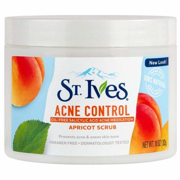 Tẩy tế bào chết St.Ives Acne Control 283g