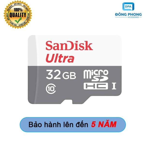 Thẻ Nhớ Micro SD 32GB Sandisk 80mb/s