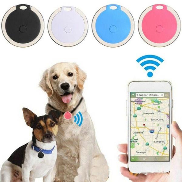 Thiết Bị Tìm Bluetooth Chìa Khóa Chống Mất Bằng Tre, Xe Thời Gian Thực Công Cụ Tìm, Thiết Bị Định Vị GPS Không Dây Thiết Bị Định Vị Báo Động
