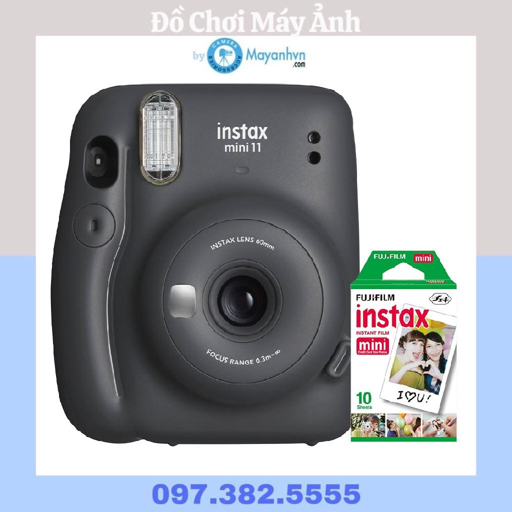 Máy Chụp ảnh Lấy Ngay Fujifilm Instax Mini 11- Chính Hãng- Tặng 1 Pack Film Mini Bất Ngờ Giảm Giá