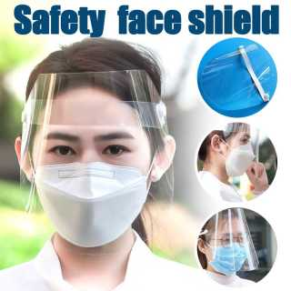 ( SALE ) Combo 10 Cái Bán Kính Che Mặt Nhựa Meka Cao Cấp Chống Giọt Bắn Phòng Dịch Bệnh - Chống Bụi Bảo Vệ Sức Khỏe (Không Gây Chóa)Nam Nữ Đeo Được, An Toàn Trong Suốt Mài Tấm Che Mắt Bảo Vệ Ốp Dẻo Chống Chống Virus thumbnail