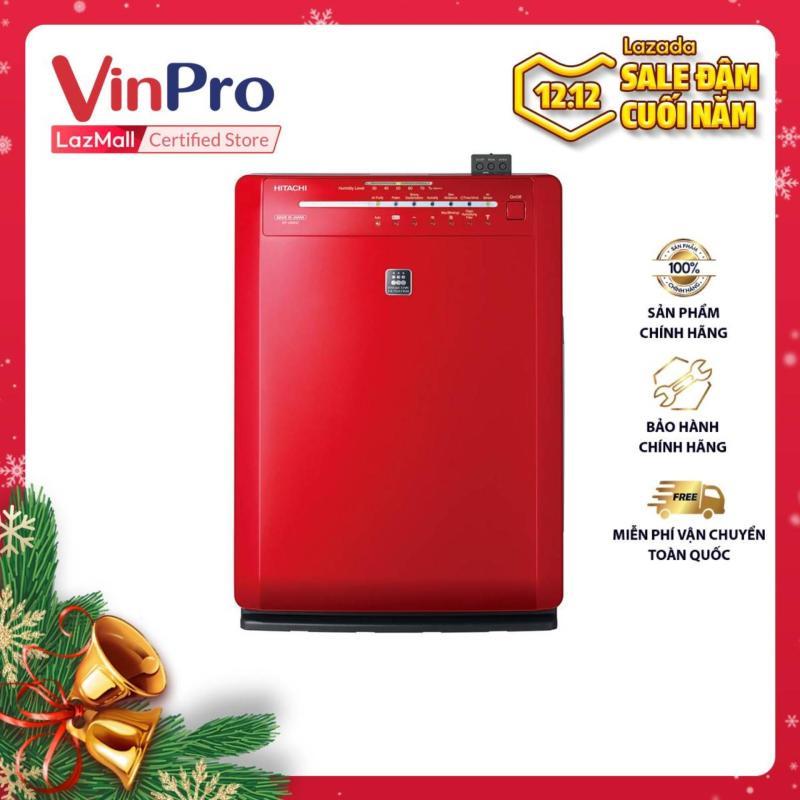 Bảng giá Máy lọc không khí Hitachi EP-A6000 240-RE - Hàng chính hãng - Dung tích 2.5 lít, công suất tạo ẩm 670ml/h, công suất tối đa 60W, cảm biến mùi độ ẩm và bụi