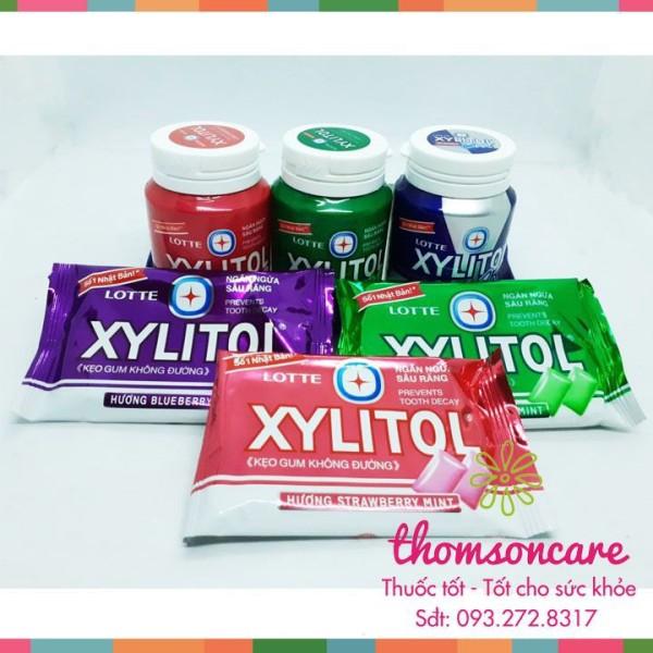 Kẹo Gum không đường Xylitol - Giúp ngừa sâu răng - Cho hơi thở thơm mát - Chính hãng. giá rẻ