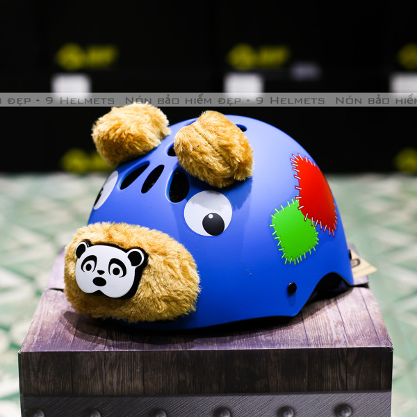 Giá bán Mũ Bảo Hiểm Trẻ Em Gấu Cam