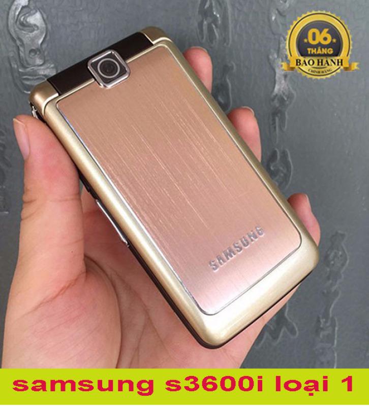 [Nhập ELMAY21 giảm 10% tối đa 200k đơn từ 99k]Điện thoại cho người giá samsung s3600i nắp gập pin siêu khủng