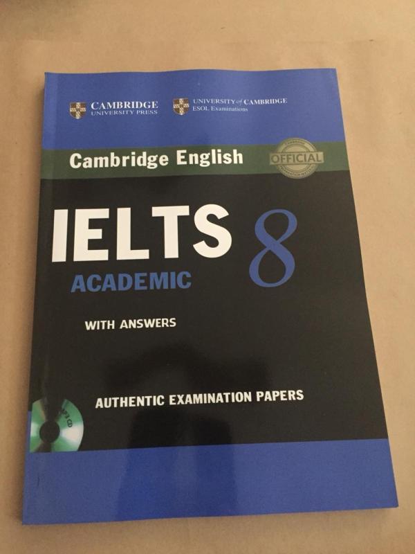 Mua Cambridge IELTS 8 không CD