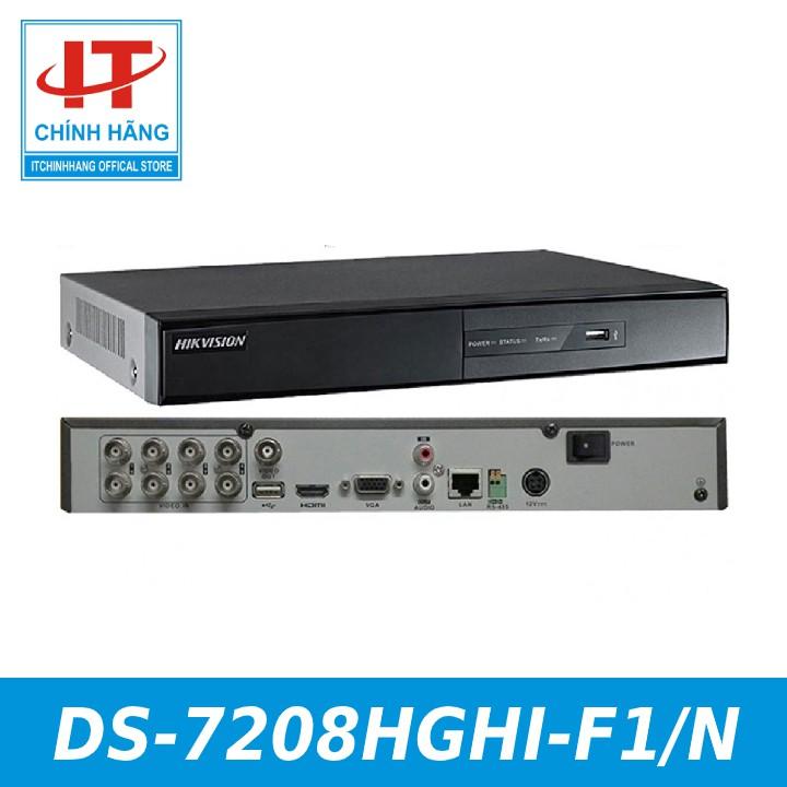 ĐẦU GHI HIKVISION DS-7208HGHI-F1/N - NHÀ PHÂN PHỐI HIKVISION